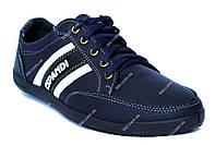Чоловічі демисезонні кросівки сині (БЛ-19с)