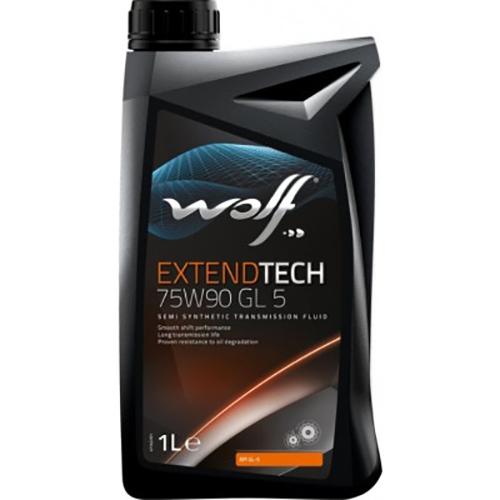 Трансмиссионное масло Wolf EXTENDTECH 75W-90 GL 5 1 л