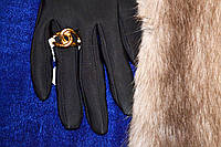 Женское кольцо, ювелирная бижутерия