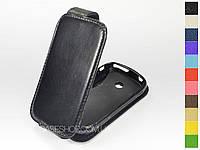Откидной чехол из натуральной кожи для Samsung s6102 Galaxy Y Duos