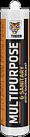 Tiger MULTIPURPOSE & SANITARY 280мл Силиконовый универсальный санитарный герметик <белый>