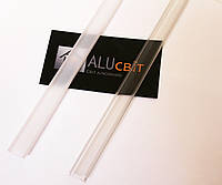 Рассеиватель прозрачный, белый для светодиодного LED профиля Z000 (линза)