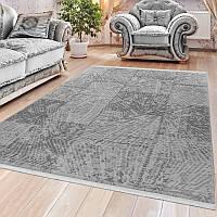 Серый ковер из хлопка, ковры Турция, ковры для дома и квартиры, фото 1