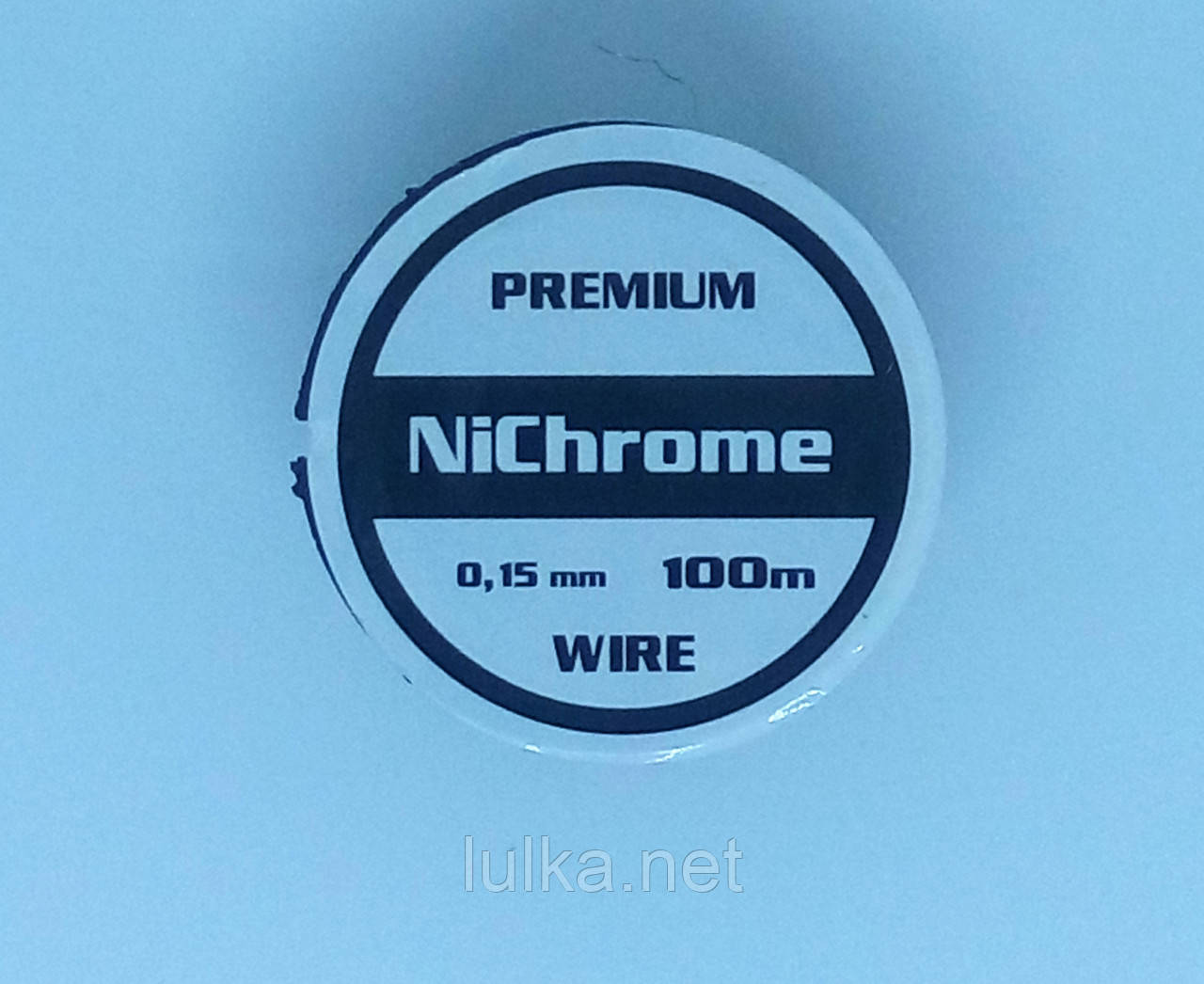 Premium Nichrome Ø 0,15 мм (катушка 100 метров)
