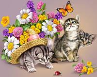 """Набор алмазной мозаики """"Игривые котята"""""""
