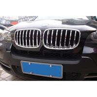 Хром накладка на решетку радиатора Wellstar BMW X5 E70 2007-2013 / X6 E71 2008-2012