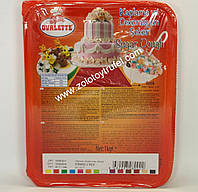 "Мастика сахарная для покрытия и моделировани ""Вуаль красная"" 100 г. ТМ ""Katsan Ovalette"""