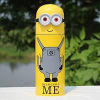 Детский термос Миньон - отличный подарок младшим школьникам
