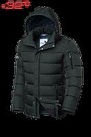 Куртка зимняя Braggart зеленая мужская Aggressive 2557E