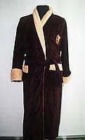 Теплый халат мужской,хлопок,Турция