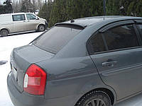 Козырёк на стекло Hyundai Accent Sd 2006-2011