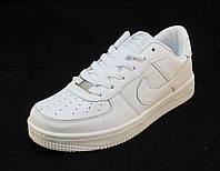 Кроссовки  Nike Air Force белые унисекс (найк аир форсы) (р.36,38,39,40)