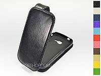 Откидной чехол из натуральной кожи для Samsung s7390Galaxy Trend