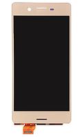 Дисплей (экран) для Sony F5121 Xperia X Dual Sim/F5122/F8131/F8132 + с сенсором (тачскрином) розовый Оригинал