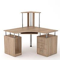 """Компьютерный стол """"СУ-6"""" производства мебельной фабрики Компанит"""