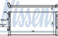 Радиатор водяного охлаждения Passat (Nissens 65252)
