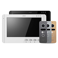 ARNY AVD-709 + NeoLight SOLO Graphite комплект видеодомофона