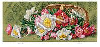 """Схема на ткани для вышивки бисером DANA """"Гармония цветов"""" 5100"""
