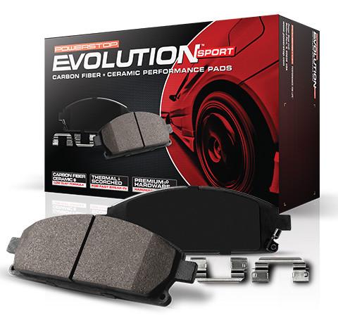 Колодки тормозные задние карбоно-керамика POWERSTOP Z23-1391 для LEXUS RX350/330/400h
