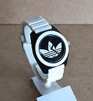 Спортивные часы Adidas, Адидас белые с черным