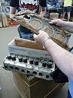 Головка блока Газель,Волга двигатель 402 (А93) с клапанами, прокладками и крепежем (производство ЗМЗ)