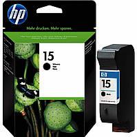 Струйный картридж HP №15 Black (C6615DE), оригинал