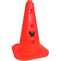 Конус тренировочный SWIFT Training cone с отверстиями, 34 см, (оранжевый)