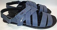 Сандалии мужские кожаные р41-44 PATRIOT 14L318 серые