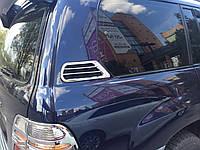 Накладки на воздуховоды Toyota Land Cruiser 100 1998-2007 (пластик)
