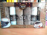 Набор кухонный махровые полотенца 40 х 60 см., 6 шт. Merzuka