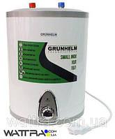 Бойлер 15 л Grunhelm GBH I-15U водонагреватель накопительный (верхнее подключение), бак нержавейка