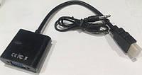 Конвертор видео адаптер HDMI -VGA со звуком в Одессе