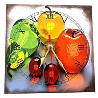 Часы настенные Вишни (15х15 см)