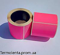 Этикет - лента 50*40 (200) Розовая