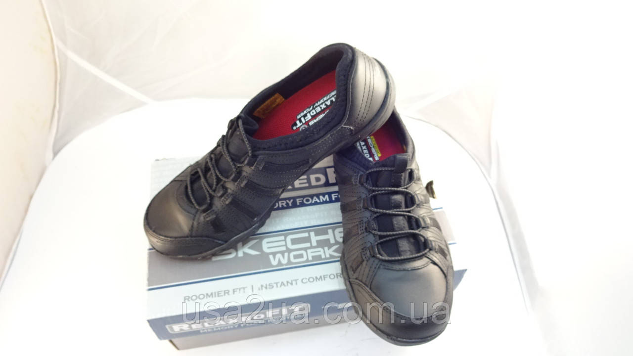 Из США! Кроссовки SKECHERS Work Relaxed Fit®: Rodessa SR  размер 36.5