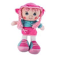 Мягкая игрушка Кукла музыкальная красная