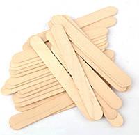 Шпатель деревянный для воска, парафина (100 шт/уп)