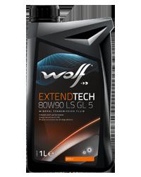 Трансмиссионное масло Wolf EXTENDTECH 80W-90 GL 5 1 л