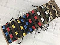 Браслет мужской кожаный 16445