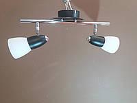 Люстра СПОТ потолочная на два 2 плафона 160272
