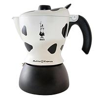 Гейзерная кофеварка Bialetti Mukka Express (2 cup) для приготовления капучино
