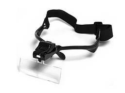 Лупа-очки бинокулярная NO.9892B2(Tcom) Led подсв., 1Х 1.5X 2X 2.5X 3.5