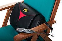 Массажная подушка шиацу Zoryana (Зоряна) Nefrimed (Нефримед) с нефритовыми роликами, фото 1