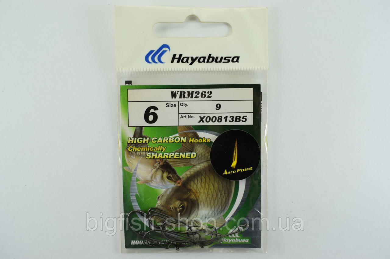 Крючки офсетные Hayabusa WRM262 №6