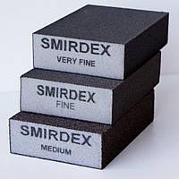 Абразивная губка Smirdex 100*70*25мм