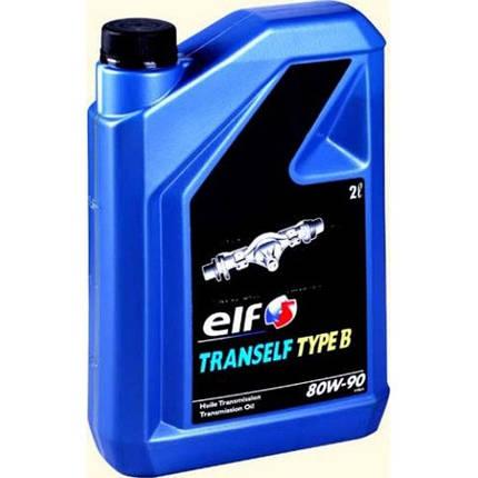 Трансмиссионное масло ELF TRANSELF TYP B 80W90 2Л, фото 2
