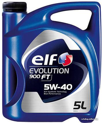 Моторное масло ELF EVOLUTION 900 FT 5W40 5Л, фото 2