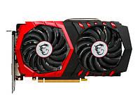 Видеокарта GeForce GTX1050Ti OC, MSI, GAMING, 4Gb DDR5, 128-bit, DVI/HDMI/DP, 1430/7008 MHz (GTX 1050Ti GAMING 4G)