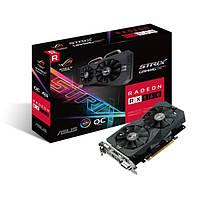 Видеокарта Radeon RX 560 OC, Asus, GAMING, 4Gb DDR5, 128-bit, DVI/HDMI/DP, 1336/7000MHz, 6-pin (ROG-STRIX-RX560-O4G-GAMING)