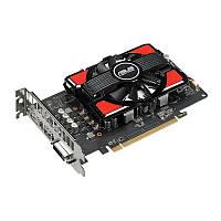 Видеокарта Radeon RX 550, Asus, 4Gb DDR5, 64-bit, DVI/HDMI/DP, 1183/7000MHz (RX550-4G)